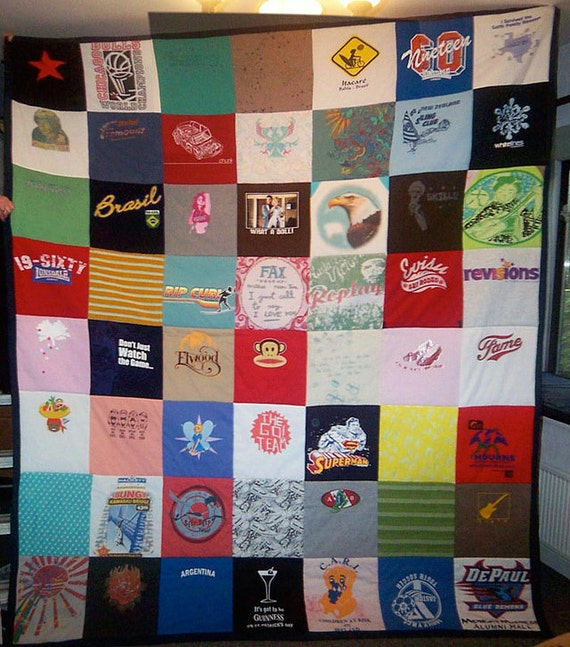 T-shirt quilt / Baby clothes quilt / memory quilt