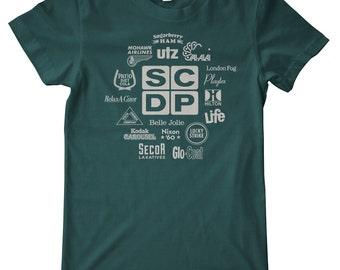 Mad Men Sterling Cooper Draper Pryce (SCDP) Clients Premium T-Shirt