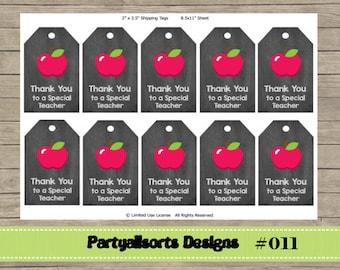 011 DIY - Teacher Thank You/ Gift Tags