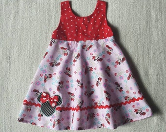 Minnie Mouse Girls Dress Size 4 ready to ship
