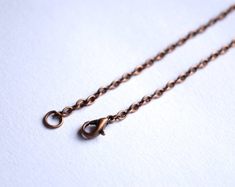 Extra copper chain or leather cord