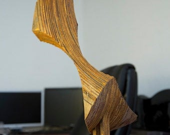 AS03 - Abstract Sculpture Rusted Steel