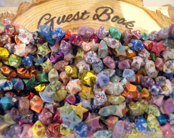 365 Handmade Folded Lucky Origami Stars. Great For Gift, Wedding, or Anniversary