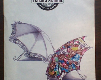 Child's Umbrella and Vintage Parasol Sewing Pattern