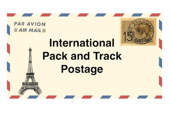 International Pack and Track Postage