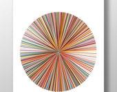 Digital Download Art, Printable Art, Line Art Print, Abstract Art, Wall Decor, Wall Art, Digital Poster, Minimalist Art, Circle Art Print