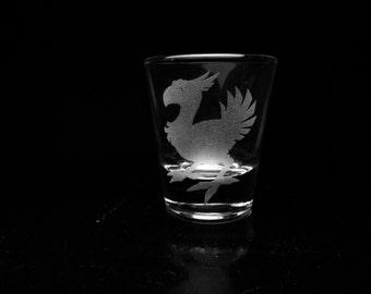 Final Fantasy Chocobo Shot Glass