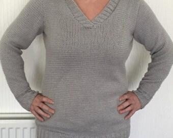 Ladies Hand Knitted Hoodie & The doors hoodie | Etsy Pezcame.Com