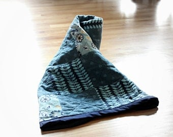 Blue Baby Rag Quilt