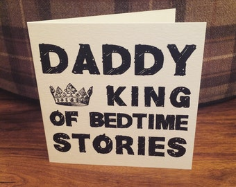 Daddy KING of the Bedtime Stories