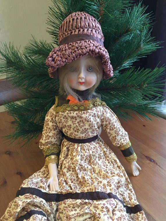 porcelain doll antique albert e price porcelain doll