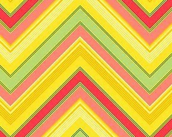 1 YARD Heather Bailey - Pop Garden - Zag Stripe