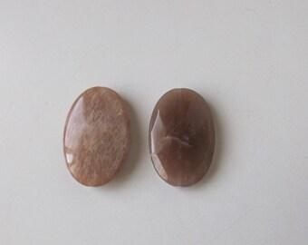 Natural Moonstone  pendant  beads ( #J1352)