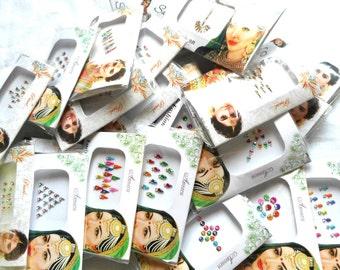 Indian Bindis 20 or 30 packs | bollywood bindi | Bindi whole sale | bindi lot |Belly decoration | Indian wedding decoration | party wear