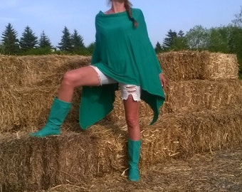tunic/green tunic/cotton tunic/caftan/kaftan/oversize tunic