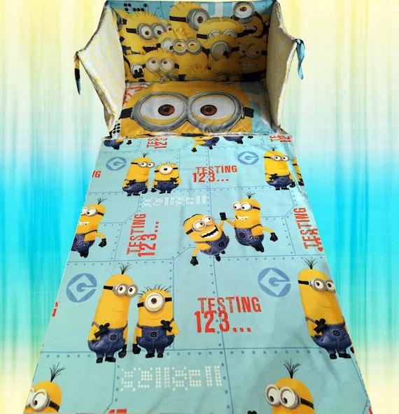 Despicable Me Minion Crib Bedding