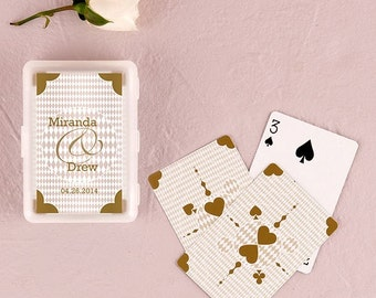 Personalized Wedding Favor - Playing Card Wedding Favor - Bridal Shower Favor - Personalized Party Favors - Personalized Playing Cards Favor
