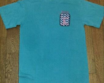 Single Initial Mason Jar Shirt