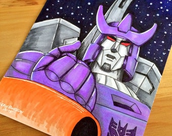 Galvatron 8x10 signed original