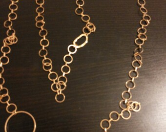 necklace hand made - goldfield