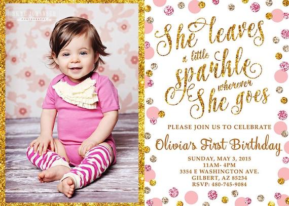 She Leaves a Little Sparkle Wherever She Goes Baby Girl ...