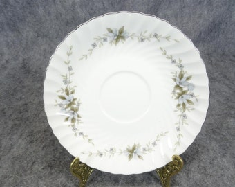 Mikaba Fine China Saucer Alyre Pattern