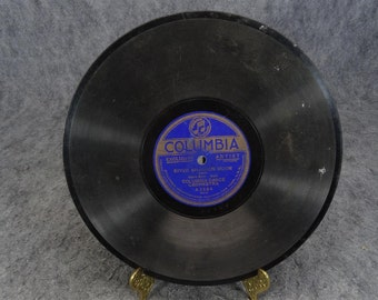 "Columbia Dance Orchestra 78 RPM Columbia Records "" Honeymoon Time/River Shannon Moon"""