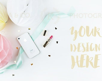 Party Styled Desktop Image | Styled Stock Photography | Product Mockup | Product Photography #37