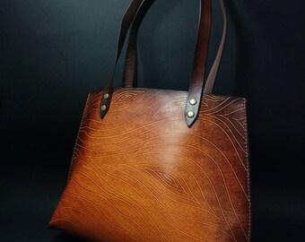 Handmade Leather Bag,Shopper Bag,Shoulder Bag,Women Bag,Leather Shopperbag,Leather Shoulder bag,Tote bag,totebag