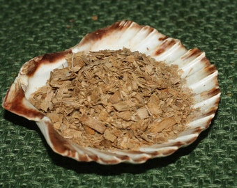 English Oak Shavings for the Oak King, Strenght & Courage  - Spellwork, Charms or Incense - Pagan, Wicca, Witchcraft