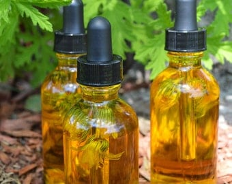 Citronella & Calendula Herbal Body Oil 2 oz.