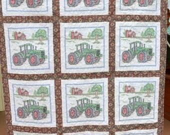 Farm Tractor Quilt