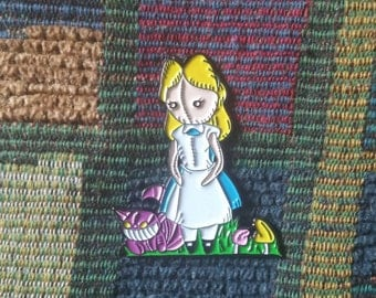 Alice in Wonderland Plush Pin