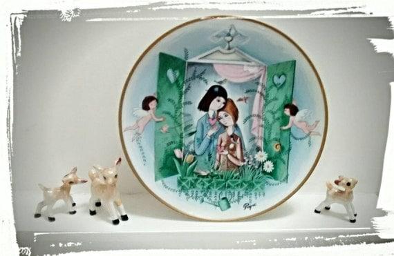 Quirky Wedding Gifts Uk: Unusual Wedding Gift Raymond Peynet Collectable Plate Le