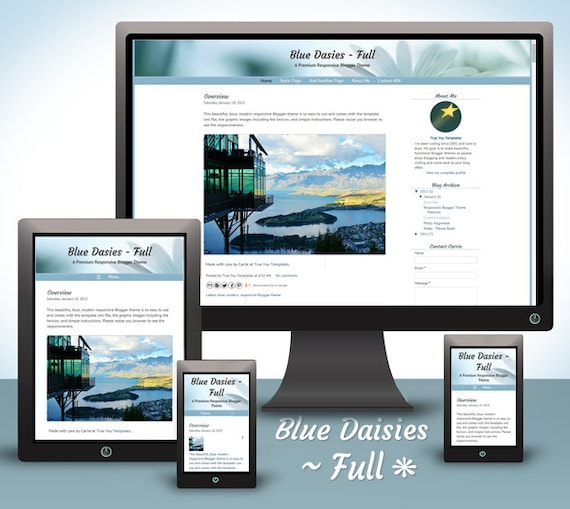 Want a responsive blog?