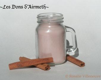 Chandelle Cannelle à la cire de soya (Cinnamon soy candle)