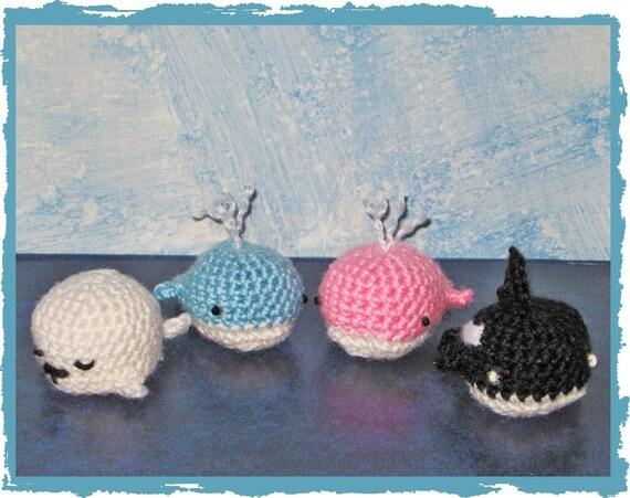 Orca Amigurumi Schema : Items similar to WHALE ORCA SEAL amigurumi crochet wedding ...