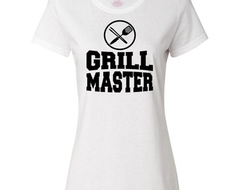 Grill Master Women's T-Shirt by Inktastic