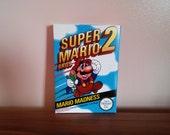 NES Super Mario Bros 2  Repro Box NO Game Included