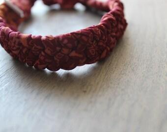 Braided Upcycled Sari Headbands