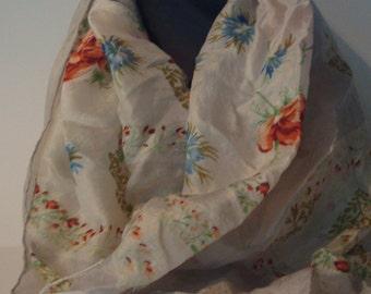 Delicate vintage scarf