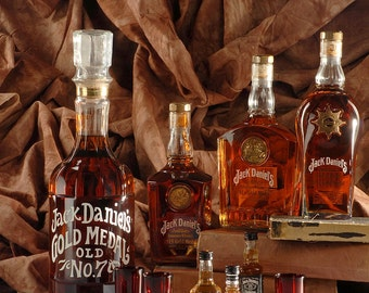 Jack History, Jack Daniels, Gold Medal, Single Barrel, Gentleman Jack