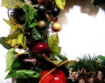 Bottom of the Bucket Recycled Wreath