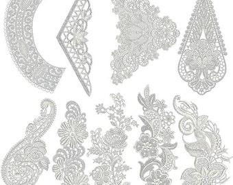 Vintage Lace 5 Designs