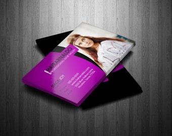 Business Card Template - Hairarnaldo Stylist/Hairdresser/Salon Business Card