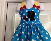 Disney's Snow White Silhouette dress with machine appliquéd appliqué with optional hair/shoulder bows (bows extra)
