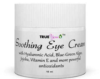 Best Eye Cream for Wrinkles Super Anti-Oxidant for Puffiness and Dark Circles with Hyaluronic Acid - Organic and Natural!