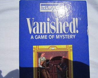 Vanished! A Game of Mystery-1990 by Bepuzzled-Complete