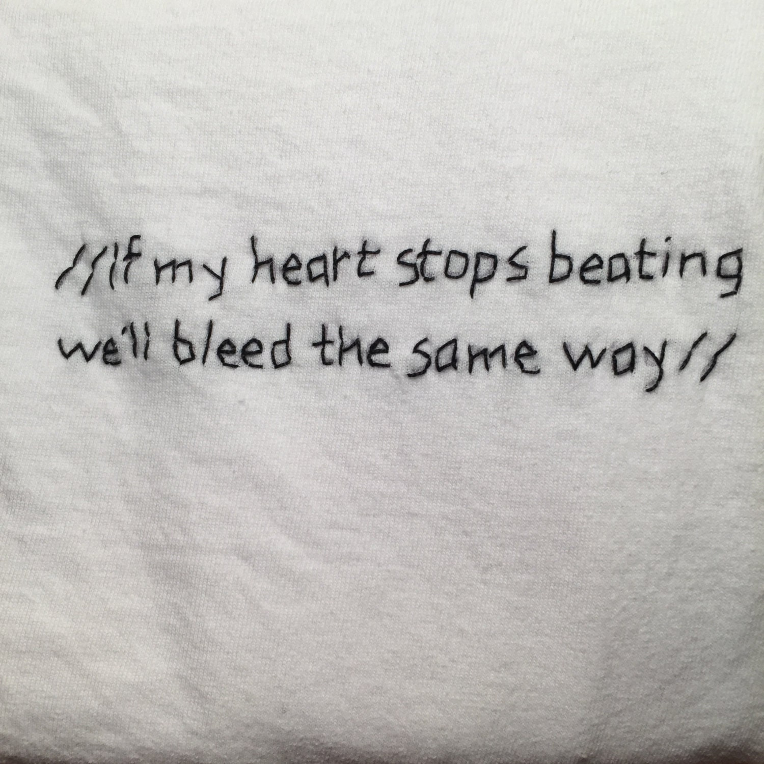 44 i ll be there when your heart stops beating: