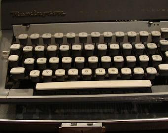 Remington Manual Typewriter, circa 1956.